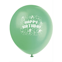 6 Latex Balloons Birthday Gifts