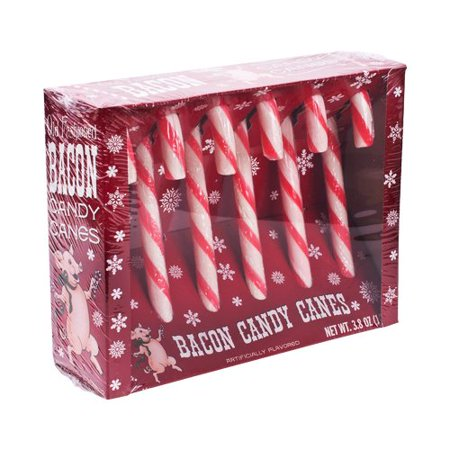 - Bacon Flavored Candy Canes
