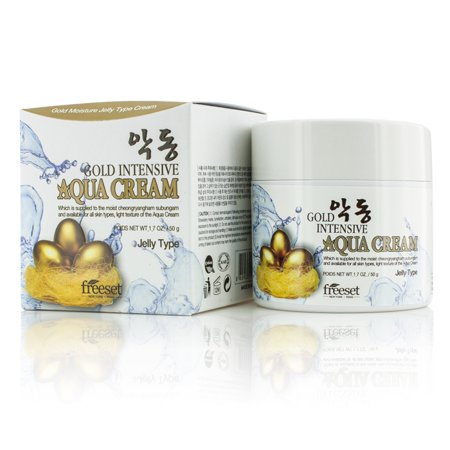 Freeset - Crème Aqua (humidité de type gelée) - or intensif - 50 g / 1,7 oz