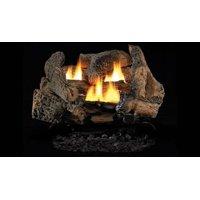 """Superior LVD18GO 18"""" Golden Oak Vent Free Gas Log Set - Burner Sold Separately"""