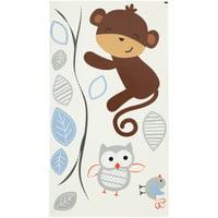 Bedtime Originals? Mod Monkey Collection Wall Appliqués