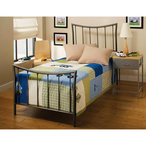 Edgewood Twin Bed, Magnesium Pewter