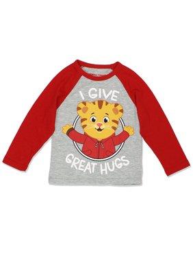 666b29505 Product Image Daniel Tiger Toddler Boys Girls Long Sleeve Tee DTST015LS