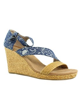ca40dc907b5 Product Image TOMS Womens Blue Ankle Strap Sandals Size 10 New