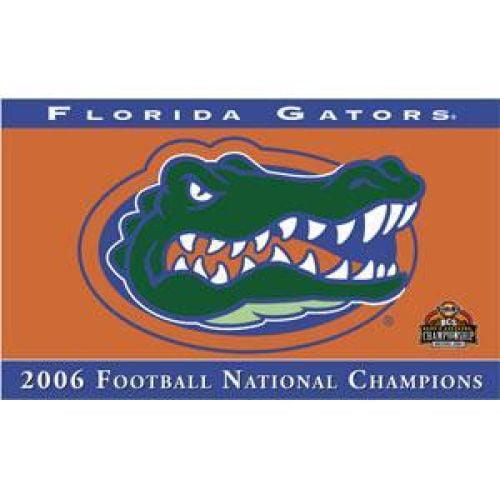 Florida Gators 2006 National Champions 3x5 Flag