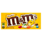 M&M's Chocolate Candies Peanut, 3.1 OZ