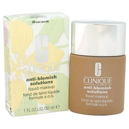 Anti-Blemish Solutions Liquid Makeup - # 06 Fresh Sand (M) - Dry To Oily Skin by Clinique for