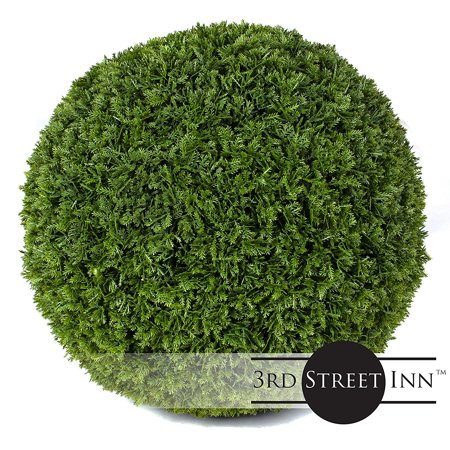 Cypress Topiary (3rd Street Inn Cypress Topiary Ball - 15