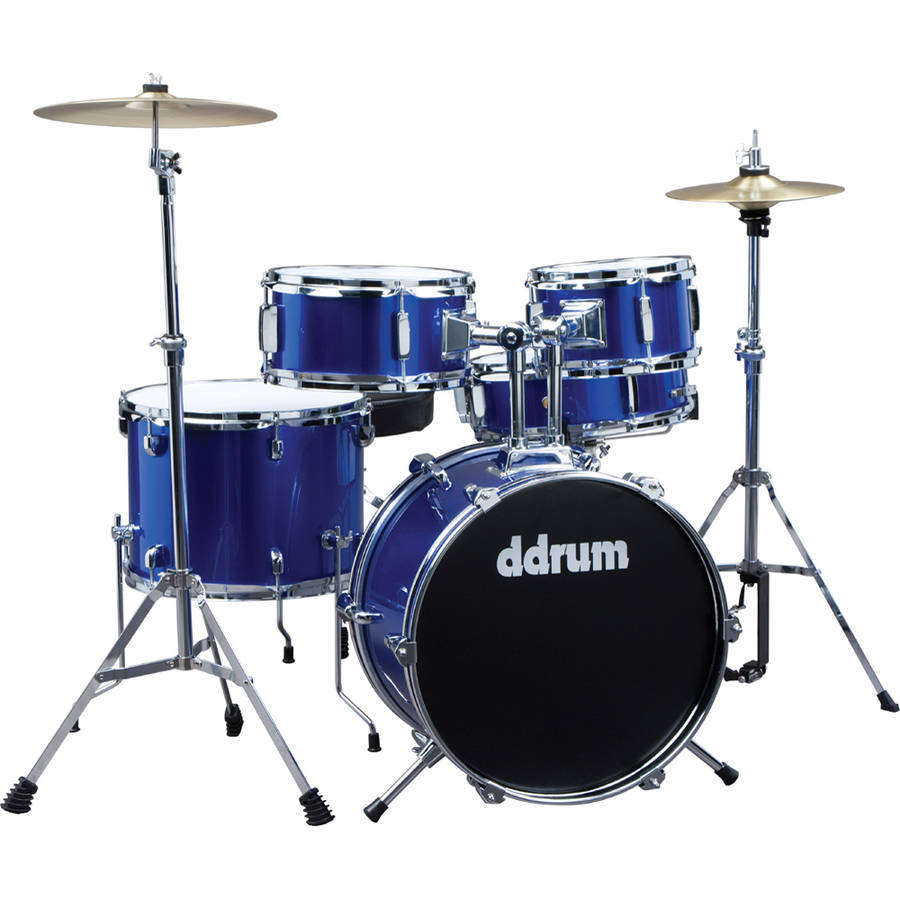 ddrum D1 Junior Drum Set, 5-Piece, Police Blue by ddrum