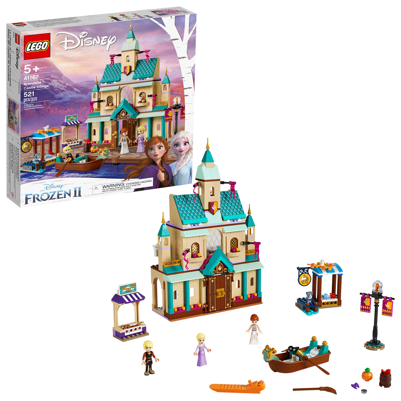 LEGO Disney Frozen II Arendelle Castle Village 41167 Toy Building Set with Anna and Elsa (521 Pieces)