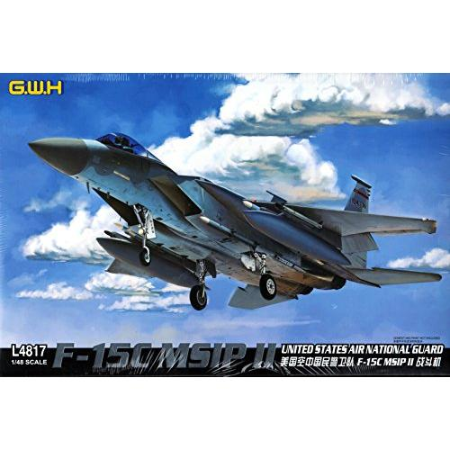 LNRL4817 1:48 Great Wall Hobby F-15C Eagle MSIP II US Air Fo Multi-Colored