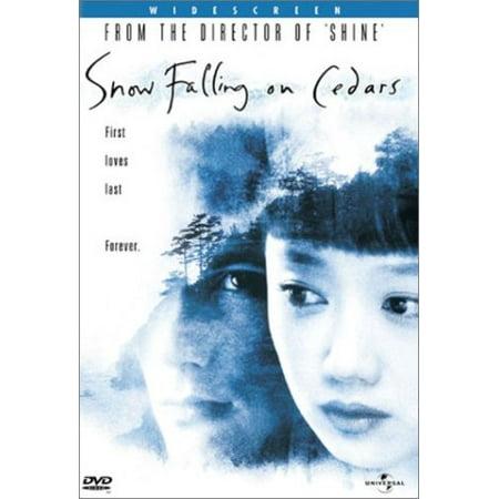 Snow Falling on Cedars (DVD)](Will It Snow On Halloween 2017)