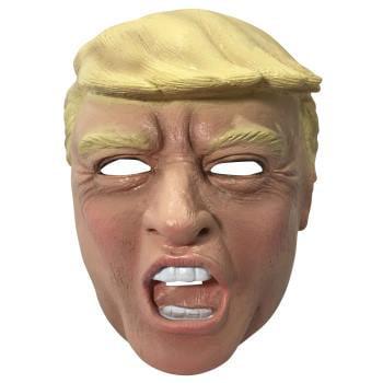 Vinyl Trump Mask Costume Accessory