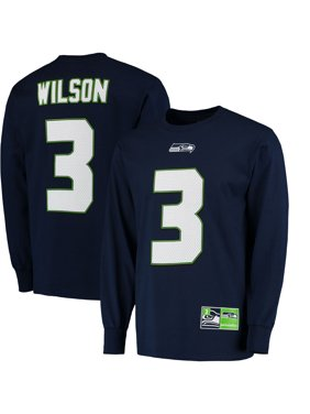 37ffbde86 Product Image Men s Majestic Russell Wilson College Navy Seattle Seahawks  Big   Tall Eligible Receiver Name   Number