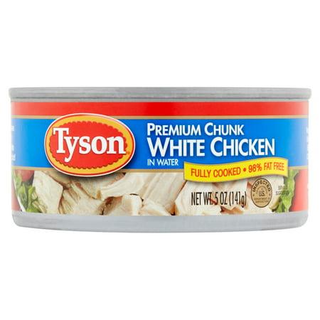 Tyson Premium Chunk White Chicken In Water  5 Oz