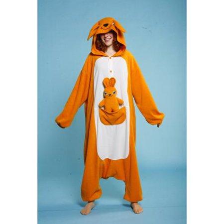 Adult Kangaroo Animal Halloween Costume size Standard