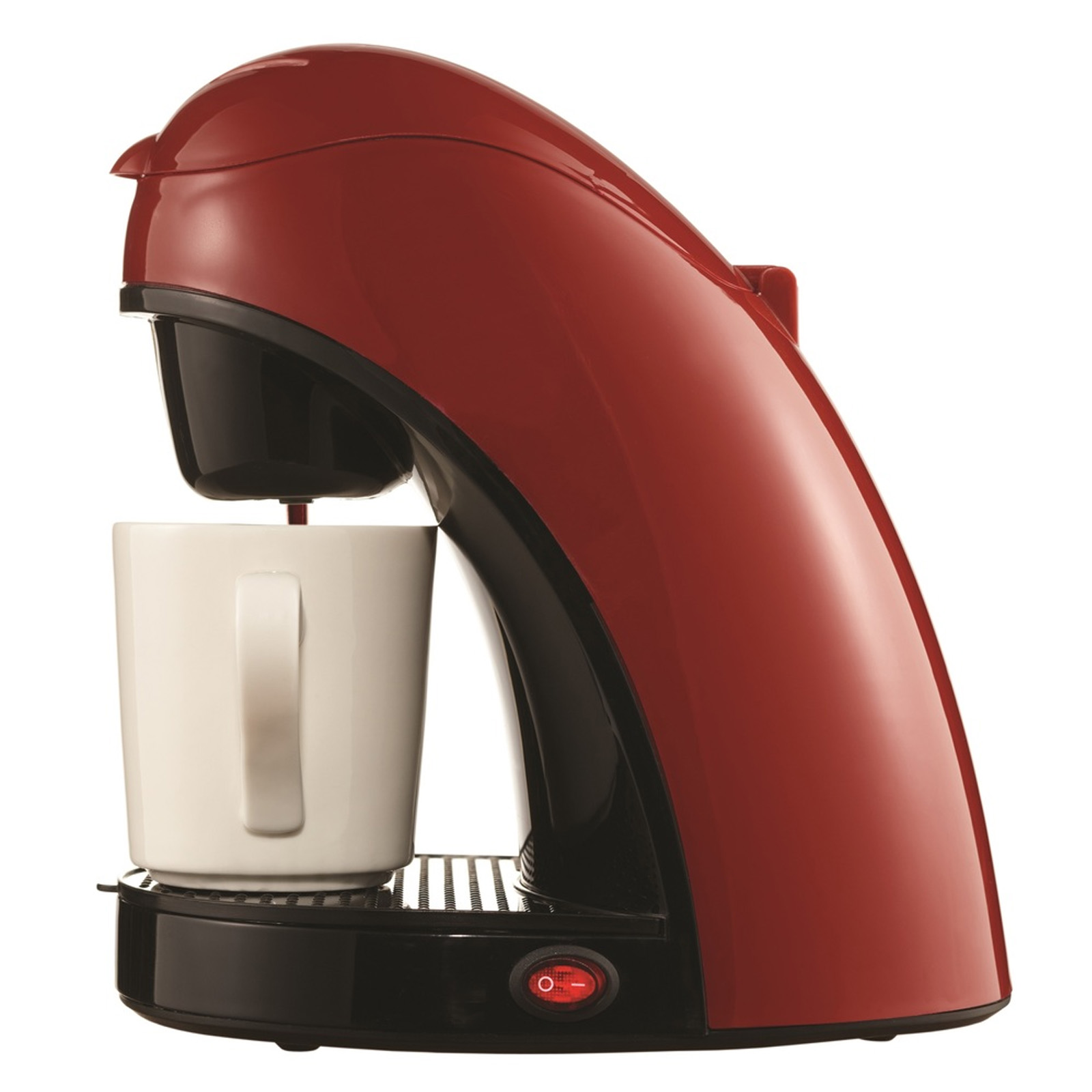 Brentwood Single Cup Coffee Maker-Red