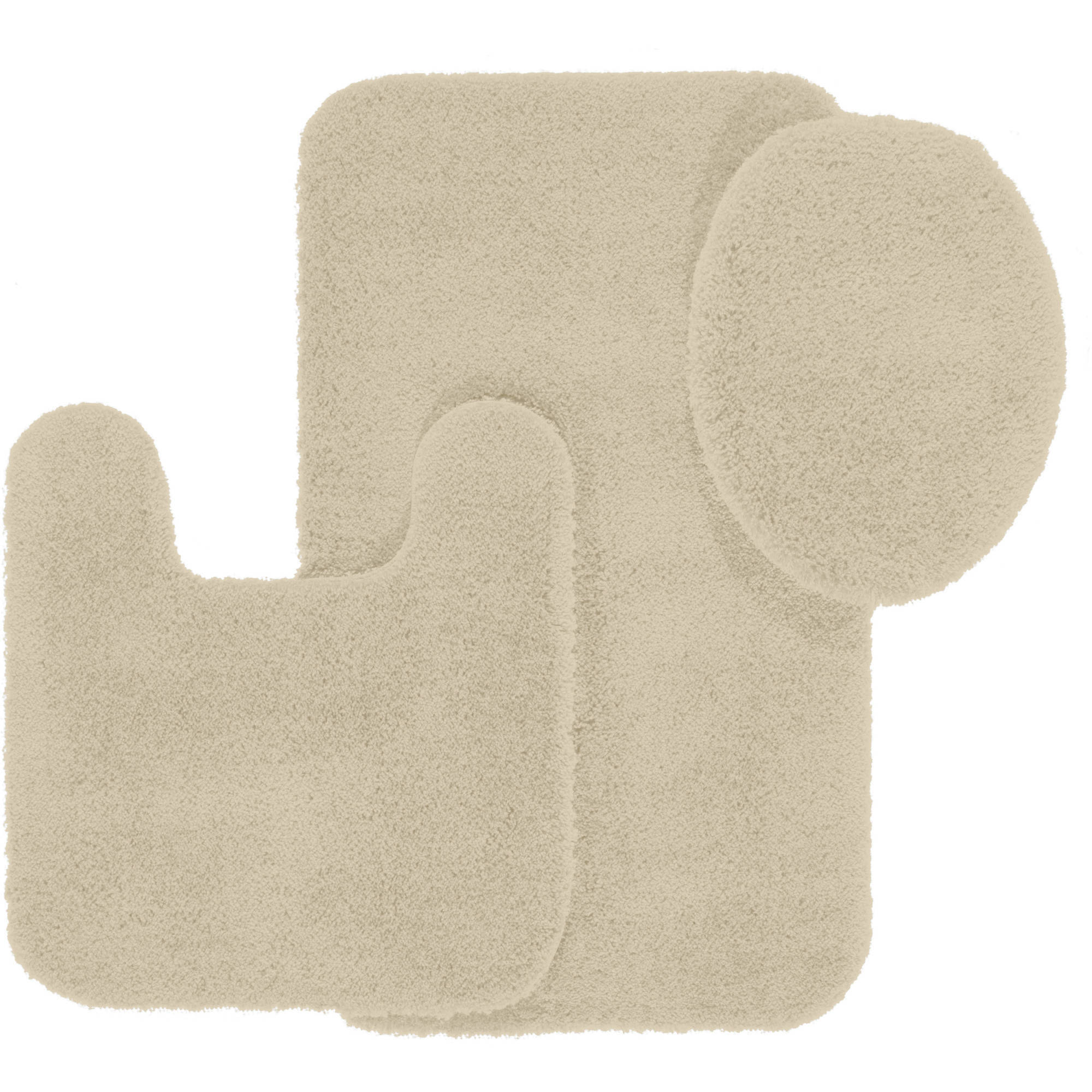 Better Homes And Gardens Extra Soft Bath Piece Set Walmartcom - Beige bath mat for bathroom decorating ideas