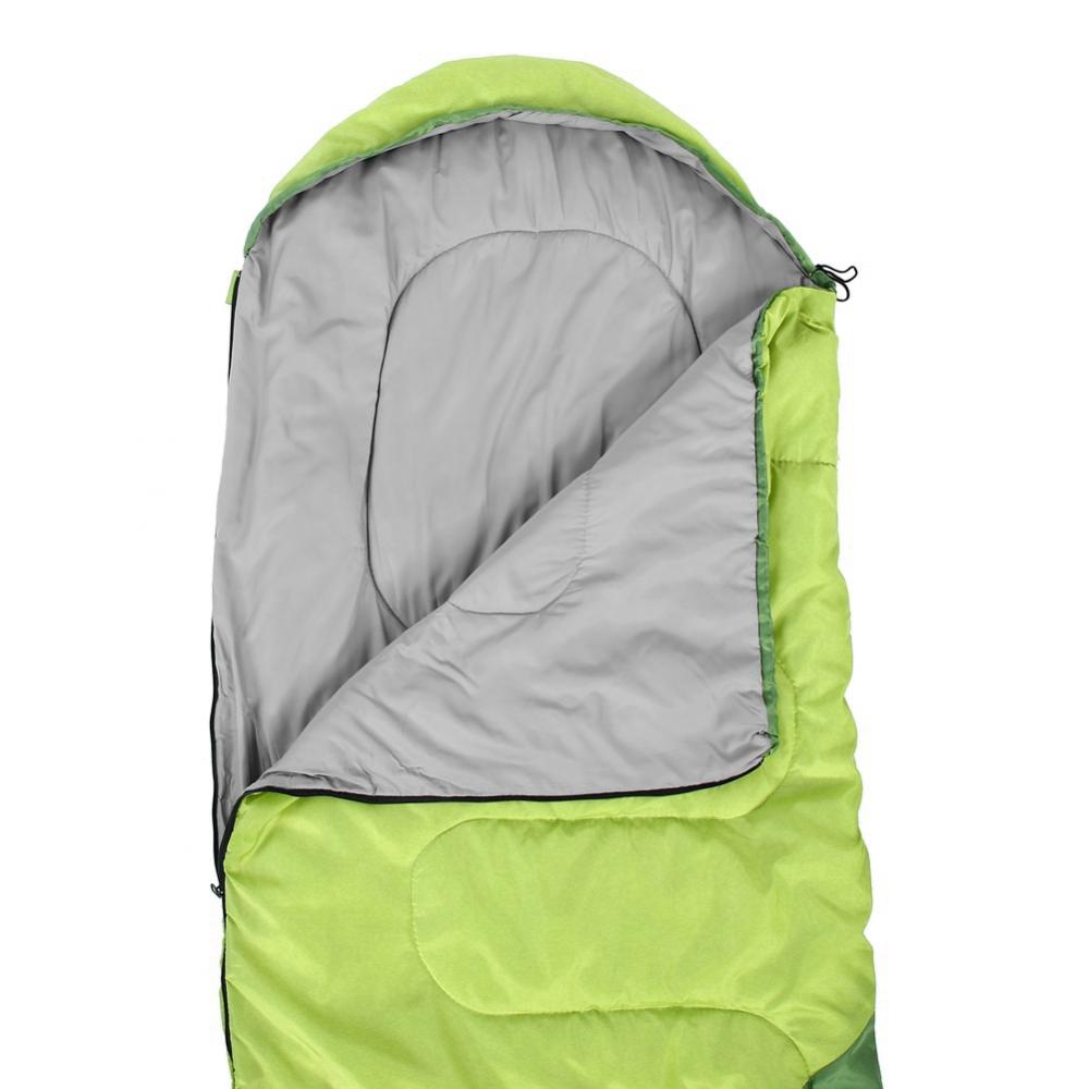 Outdoor Travel Camping Portable Waterproof Envelope Cotton Warm Single Sleeping Bag, Camping Sleeping Bag, Double Sleeping Bag
