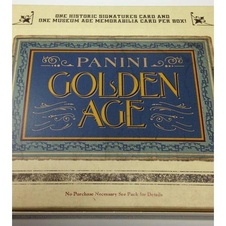 Gold Baseball Cards - 2014 Panini Golden Age Baseball Retail: