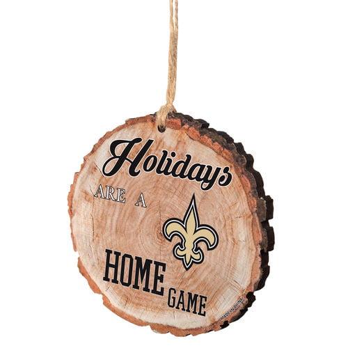 New Orleans Saints Stump Ornament