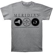 Meridian Men's  Hardcore T-shirt Grey