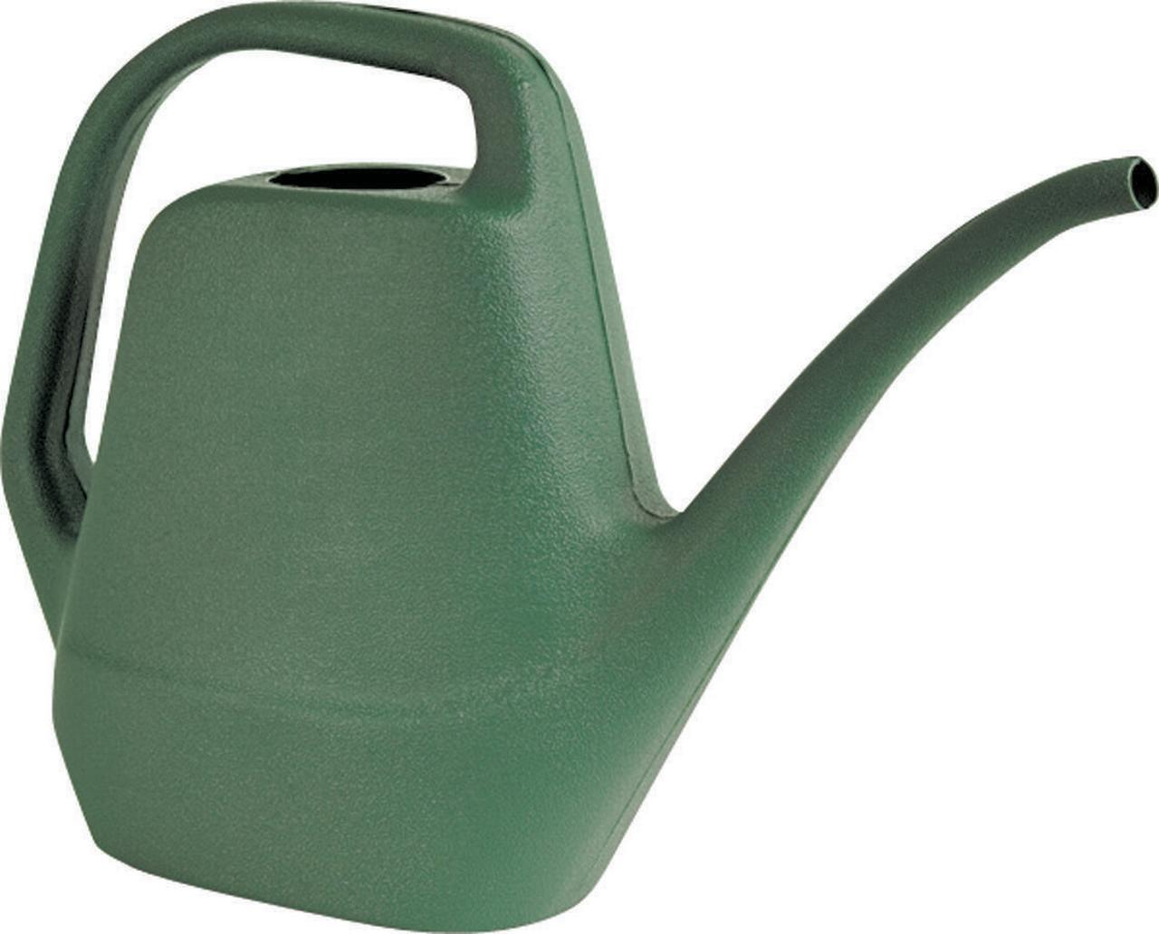 Southern Patio WC2012FE Watering Can, 80 oz, 9-7 8 in H, Long, Plastic, Green by Ames True Temper