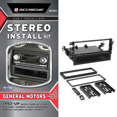 Scosche Gmt2049a 1992 Up General Motors Stereo Install