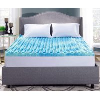 mattress dp topper com gel memory twin amazon foam inch serta