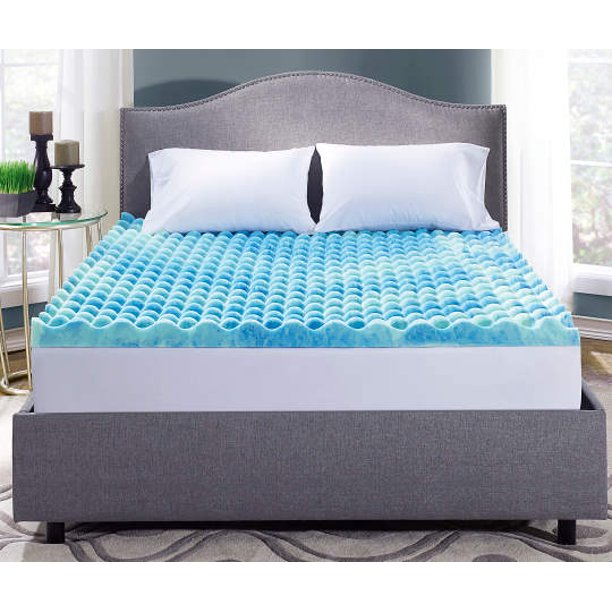 3 Inch Memory Foam Mattress Topper Queen