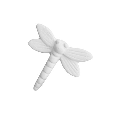 Ceramic bisque unpainted unfinished bi5004 dragonfly 1