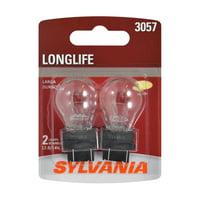 Sylvania 3057 Long Life Halogen Auto Mini Bulbs, Pack of 2.