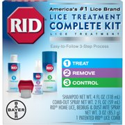Best Lice Treatments - RID Complete Lice Elimination 3 Item Kit Review
