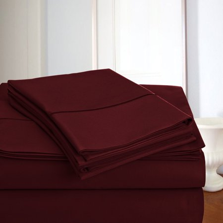 - 800 thread count 100% Egyptian Cotton 4 Pieces Sheet Set