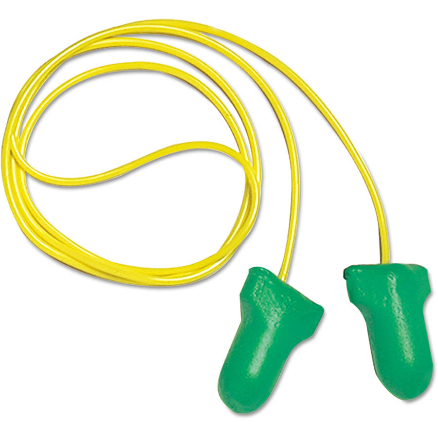 Howard Leight by Honeywell - LPF-30 Max Lite Single-Use Earplugs, Corded, 30NRR, Green