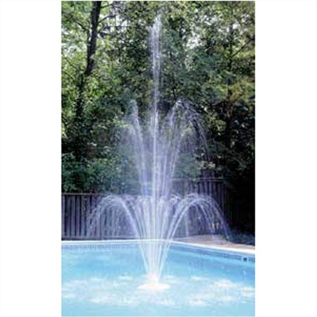 - 3-Tier Swimming Pool Fountain, Easy Set Up In White