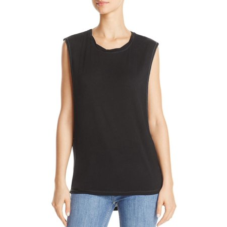 We The Free Womens The It Crew Neck Sleeveless Muscle - Ladies Sleeveless Top