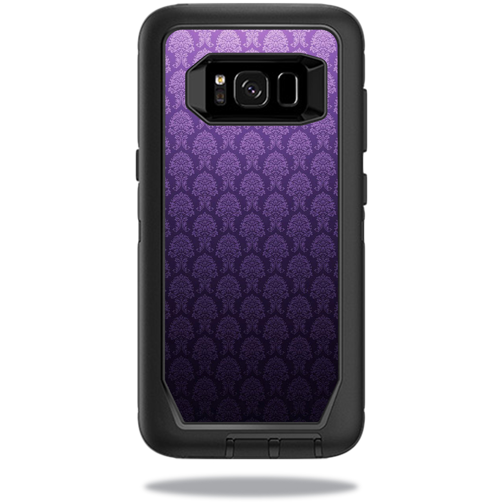 MightySkins Protective Vinyl Skin Decal for OtterBox DefenderSamsung Galaxy S8 Case sticker wrap cover sticker skins Antique Purple