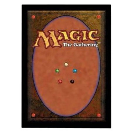 Ultra Pro The Magic the Gathering (MTG) CARD BACK - Deck Protectors (80 Count) (New Improved Sleeve Multi-Colored