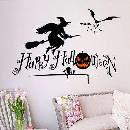 Halloween Home Decor Wall Stickers DIY Removable Wall Sticker