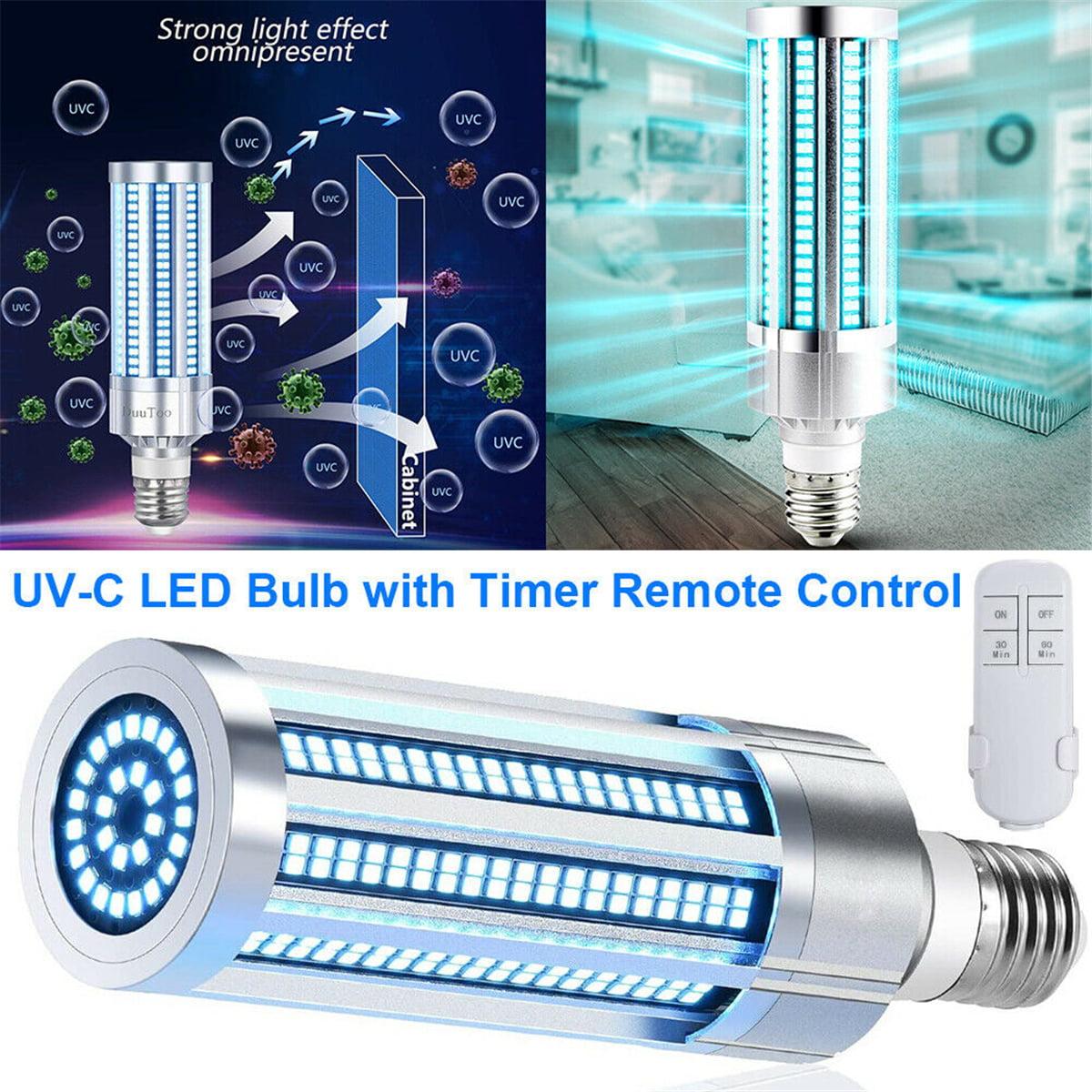 Ukap 2020 60w Uv Germicidal Lamp Led Uvc Light Bulb E26 E27