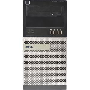 Refurbished Dell OptiPlex 9010 Desktop PC with Intel Core i7-3770S Processor, 8GB Memory, 2TB Hard Drive and Windows 10 Pro (Monitor Not Included)