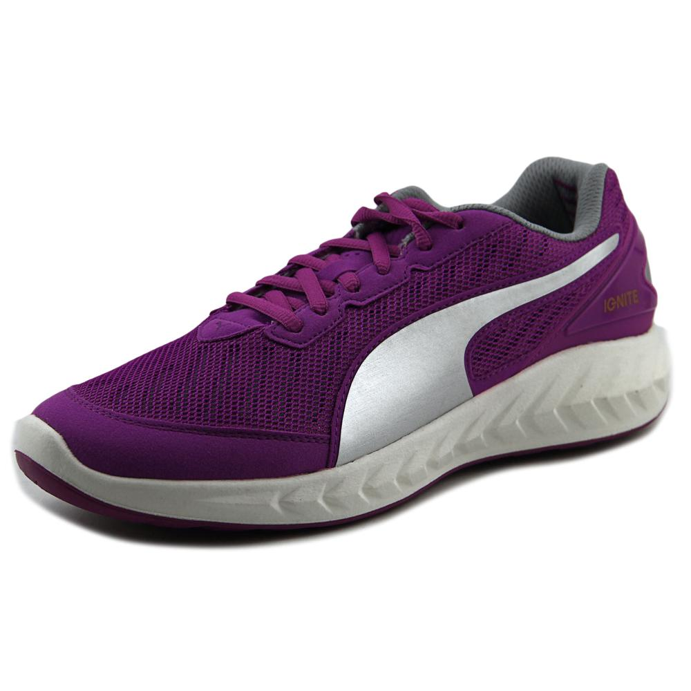 Puma Ignite Ultimate Women  Round Toe Synthetic Purple Running Shoe