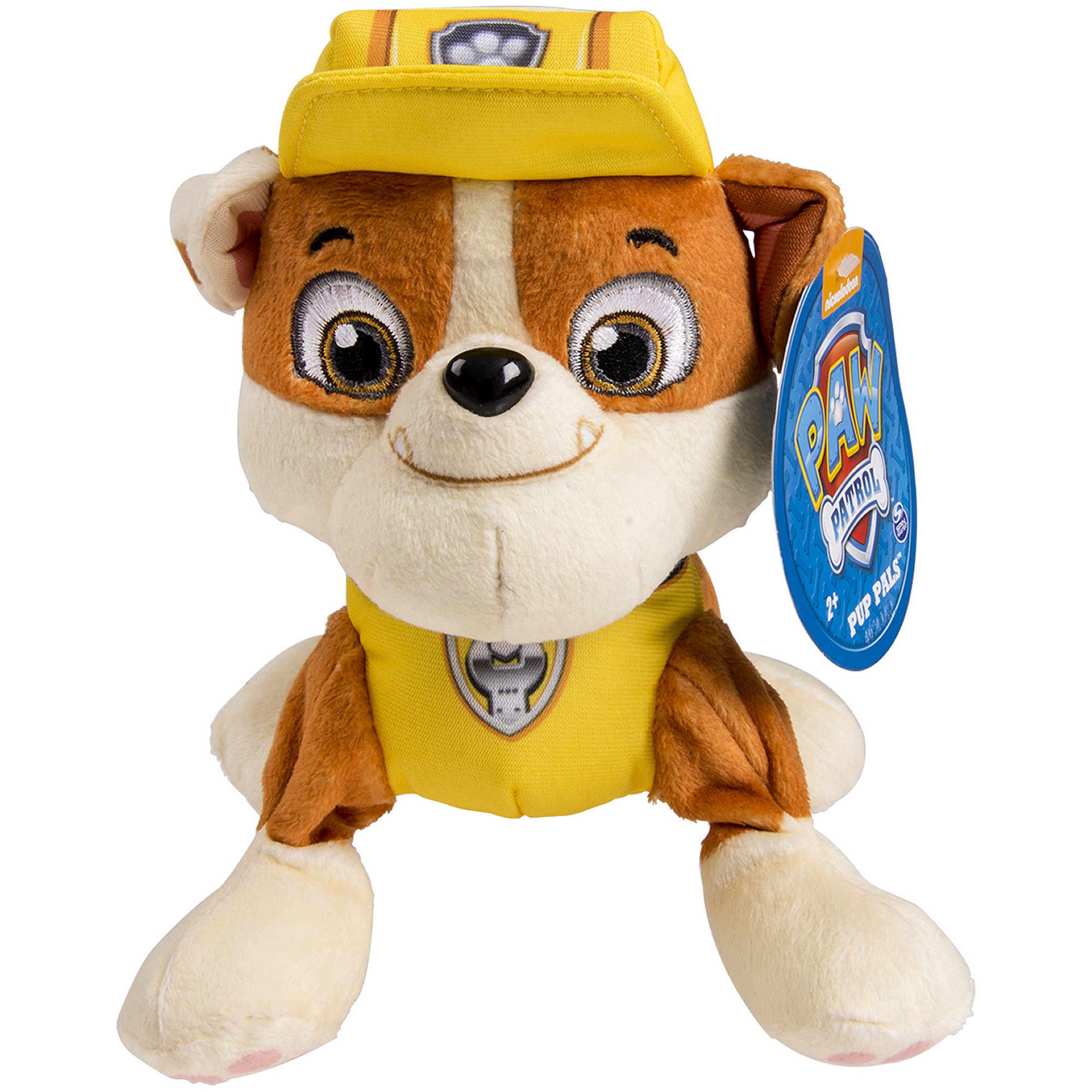 Nickelodeon Paw Patrol - Plush Pup Pals- Rubble