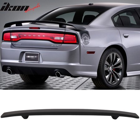 Factory Style Spoiler Wing - Fits 11-19 Dodge Charger Factory Style Trunk Spoiler Rear Wing - ABS