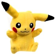 Pokemon XY Pikachu Plush [Sitting Closed Mouth]