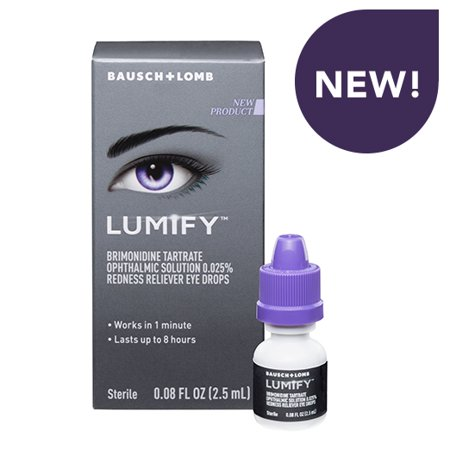 LUMIFY Redness Reliever Eye Drops, 0.08 FL OZ