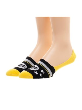 b828888dd Product Image Batman Women s 2 Pack No Show Liner Socks. Bioworld  Merchandising   Independent Sales