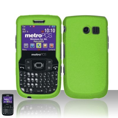 Hard Rubberized Case for Samsung Freeform 2 R360 - Green
