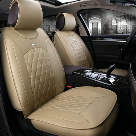 (TINTON LIFE PU Leather All 5-seats Car Interior Chair Cushion Seat Cover Mat 3D Surround UDD)